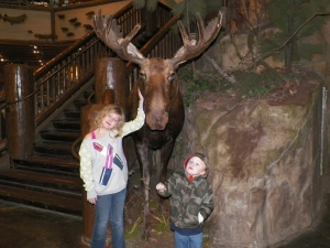 Doesn't every family go to Bass Pro Shop just to take pictures with the taxidermy animals? No?
