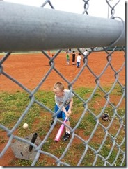 E batting first practice